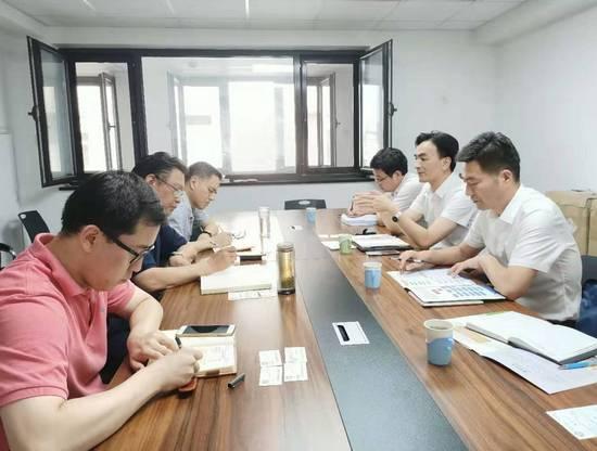张绍强理事长会见荆州市招商促进中心党委书记、主任胡成宏一行